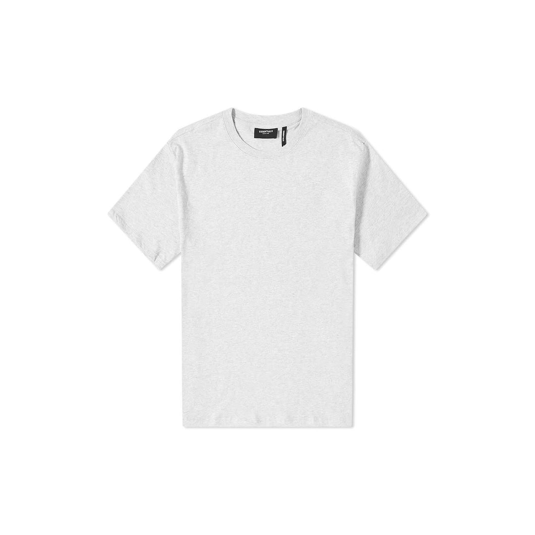 Fear of God Essentials Reflective Logo T Shirt-Grey, Clothing- dollarflexclub