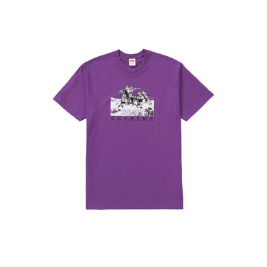Supreme Riders Tee - Purple, Clothing- dollarflexclub