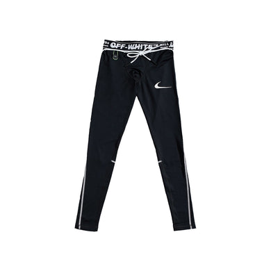 Nike x Off White Running Tights -Black, Clothing- dollarflexclub