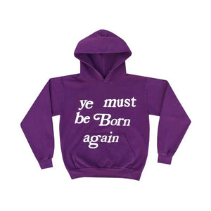 Cactus Plant Flea Market Born Again Hoodie Purple
