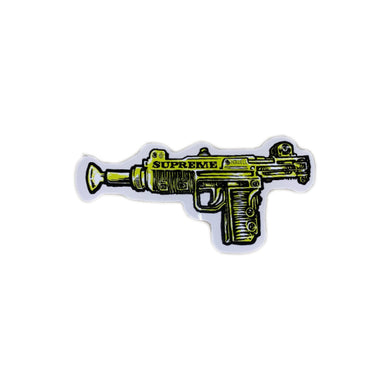 Uzi Sticker Green, Sticker- dollarflexclub