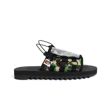 BAPE x Suicoke Sandals -Black Camo, Shoe- dollarflexclub