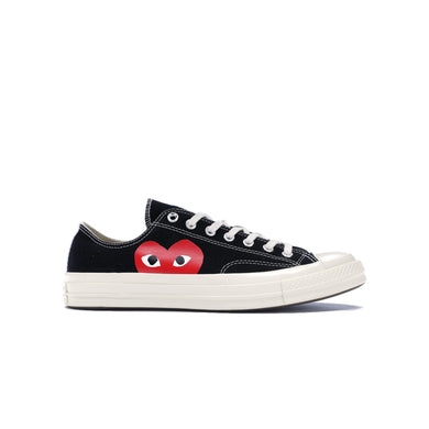 Converse Chuck Taylor All-Star 70s Ox CDG PLAY -Black, Shoe- dollarflexclub