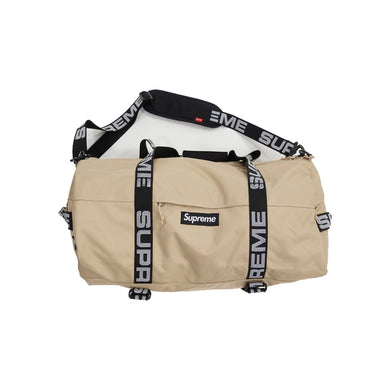 Supreme Duffle Bag Tan, Accessories- dollarflexclub