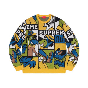 Supreme Cartoon Sweater Multicolor