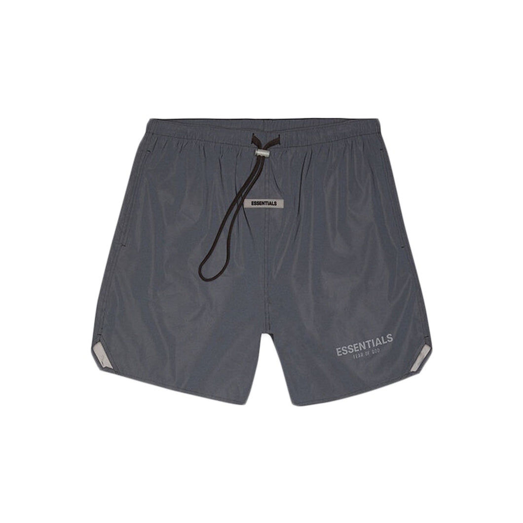 Fear of God Essentials Volley Shorts Black Reflective