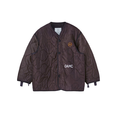OAMC x Fragment Liner -Burgundy, Clothing- dollarflexclub