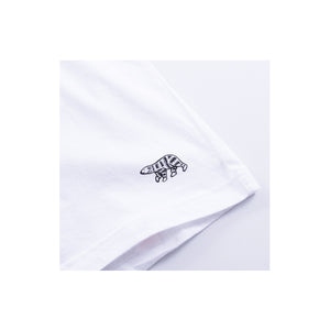 Human Made x Hanes Tee White #1, Clothing- dollarflexclub