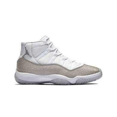 Jordan 11 Retro White Metallic Silver (W), Shoe- dollarflexclub