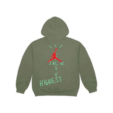 Load image into Gallery viewer, Travis Scott  x Nike Jordan Cactus Jack Highest Hoodie -Olive, Clothing- dollarflexclub