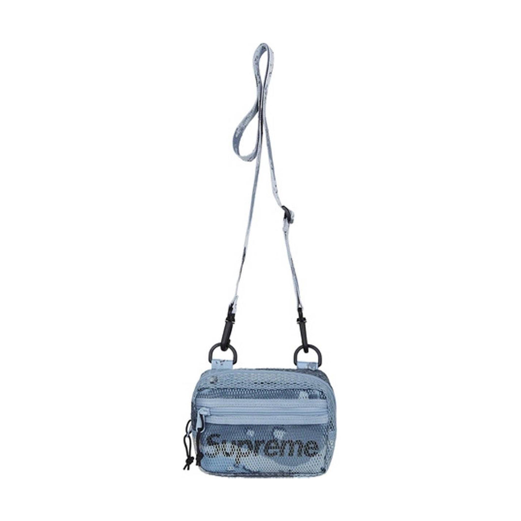 Supreme Small Shoulder Bag (SS20) Blue Chocolate Chip Camo, Accessories- dollarflexclub