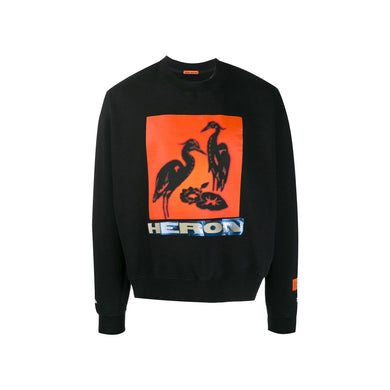 Heron Preston Crewneck Heron Tape Off Sweatshirt, Clothing- dollarflexclub