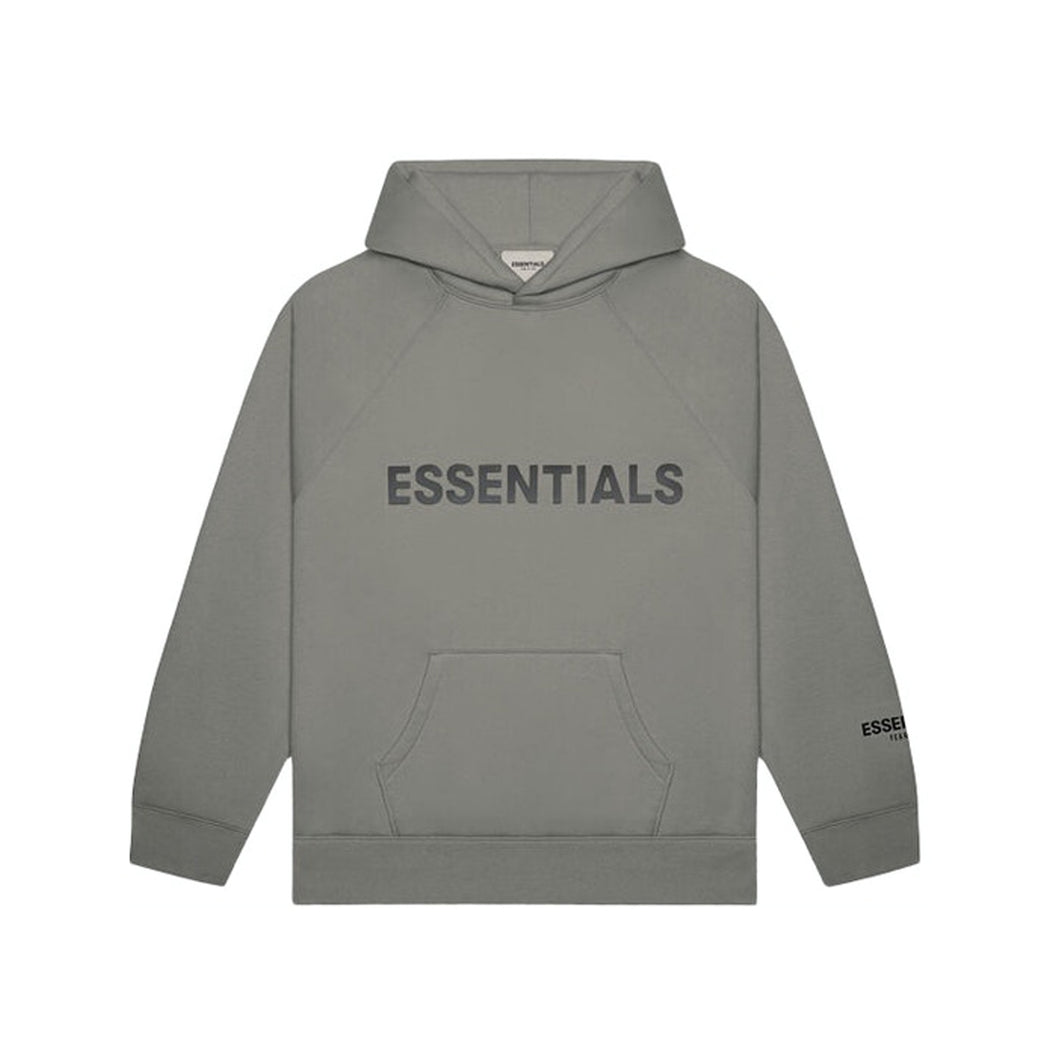 Fear of God Essentials Hoodie SS20 - Grey Flannel/Charcoal