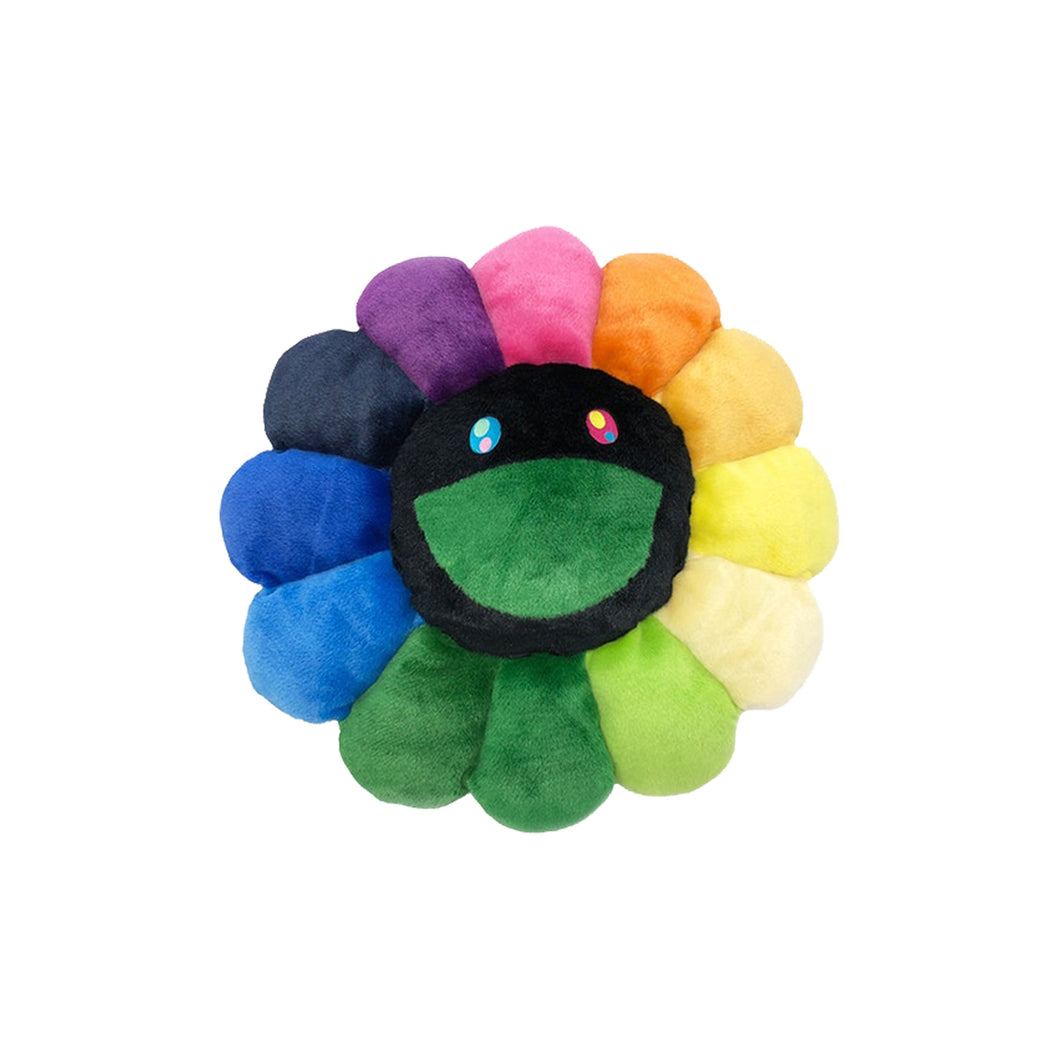 Takashi Murakami Flower 30CM Plush Rainbow/ Black, Collectibles- dollarflexclub