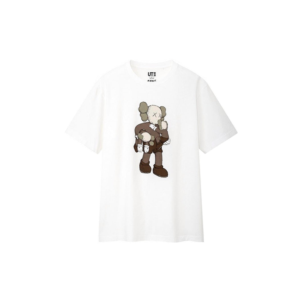 KAWS x Uniqlo Clean Slate Tee White, Clothing- dollarflexclub