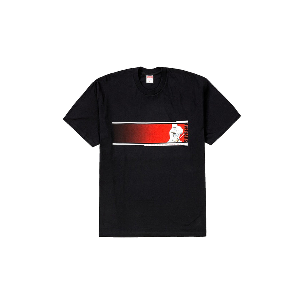 Supreme We're Back Tee -Black, Clothing- dollarflexclub