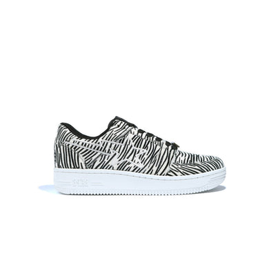 A Bathing Ape Bapesta Animal Print -Zebra, Shoe- dollarflexclub