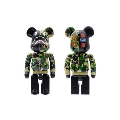 Bape x Bearbrick 200% Green, Collectibles- dollarflexclub