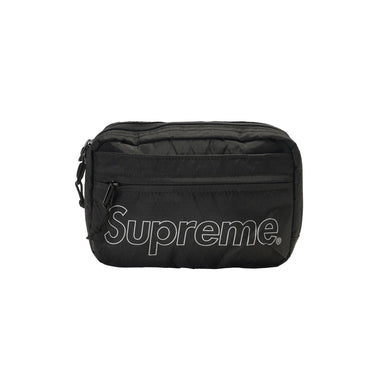 Supreme FW18 Shoulder Bag - Black, Accessories- dollarflexclub