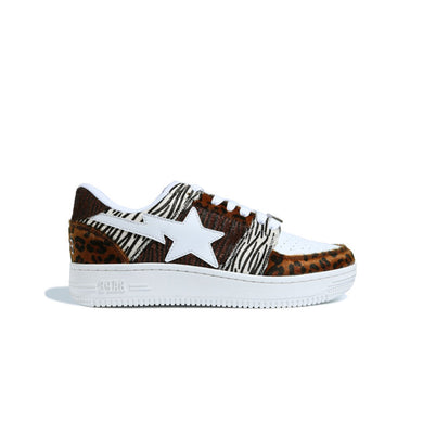 A Bathing Ape Animal Mix Bape Sta Low, Shoe- dollarflexclub