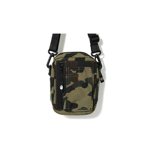 BAPE 1st Camo Military Shoulder Bag Green