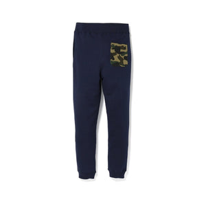 BAPE Shark Slim Sweat Pants Navy/Green