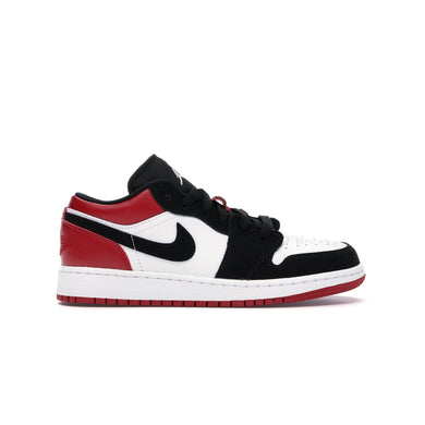 Jordan 1 Low Black Toe (GS), Shoe- dollarflexclub