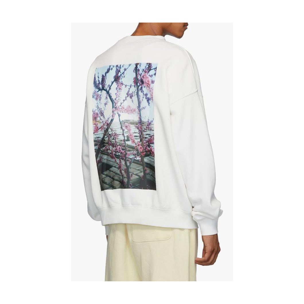 Fear of God Essentials Photo Crewneck  Sweatshirt White