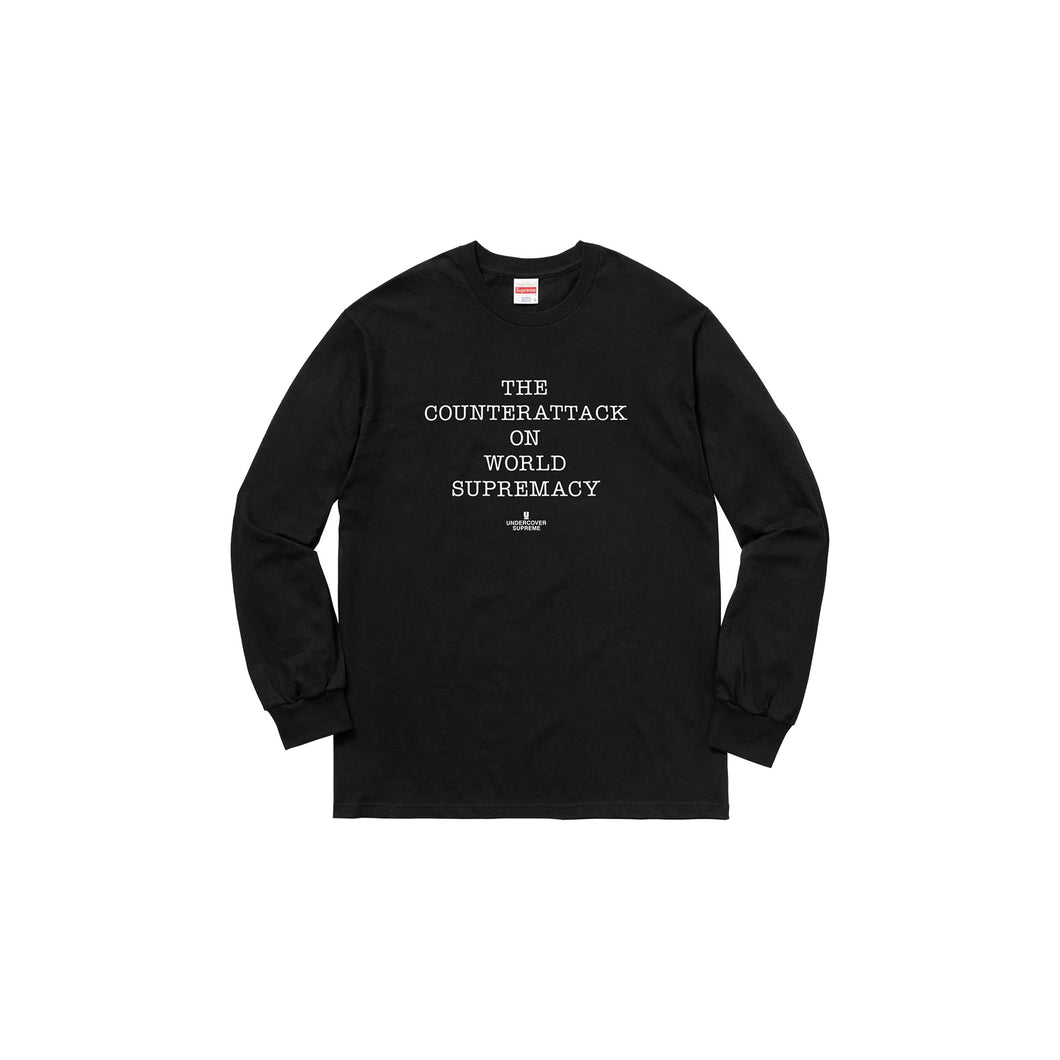 Undercover x Public Enemy Fear of a Black Planet LS Shirt -Black, Clothing- dollarflexclub