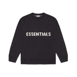 Fear of God Essentials Knit Sweater SS20 Black