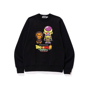 BAPE x Dragonball Super Golden Frieza Crewneck Black