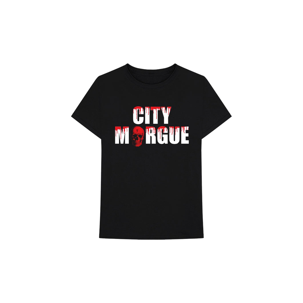 Vlone x City Morgue Dog Tee I (Black), Clothing- dollarflexclub