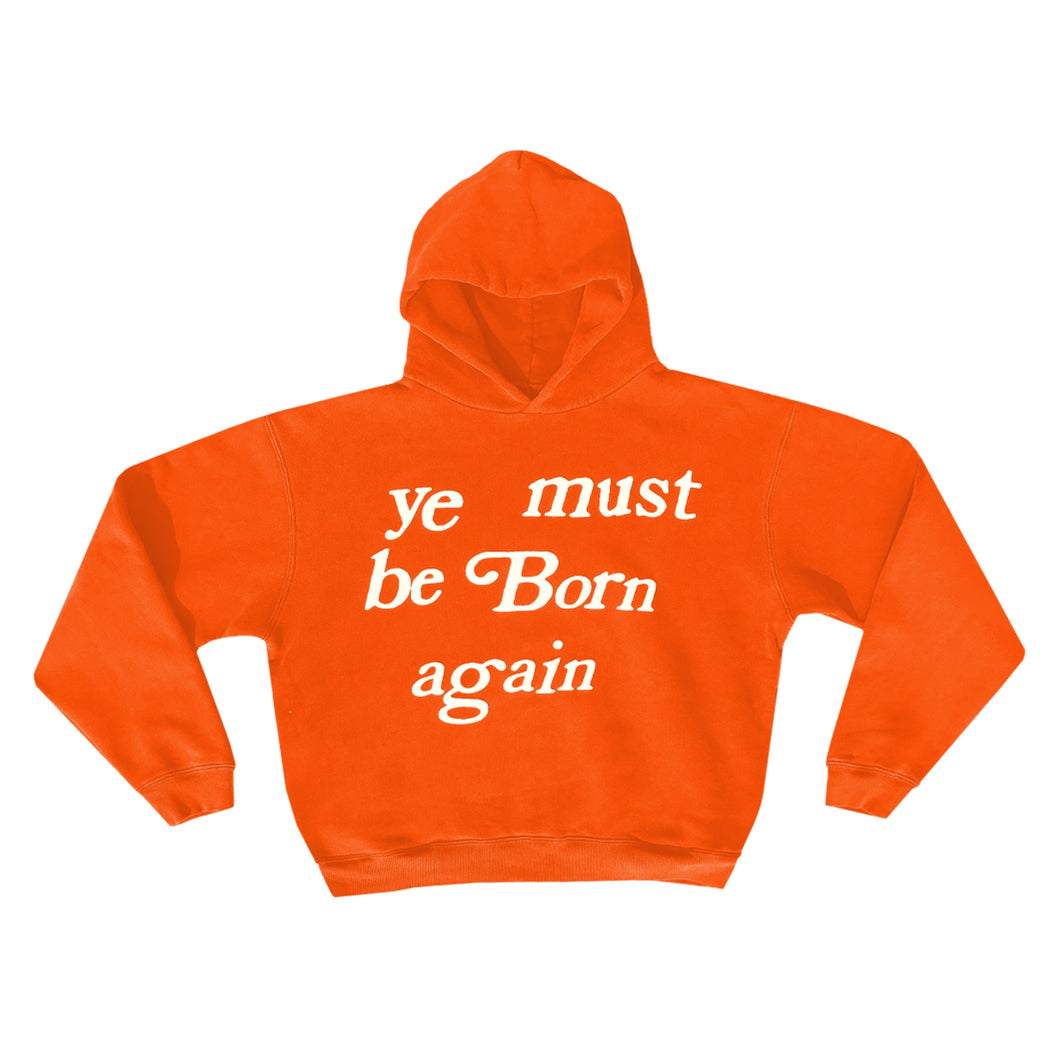 Cactus Plant Flea Market Born Again Hoodie Orange