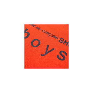 CDG Shirt Boys - Orange, Clothing- dollarflexclub