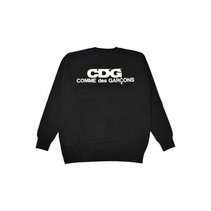 CDG Crewneck Sweater, Clothing- dollarflexclub