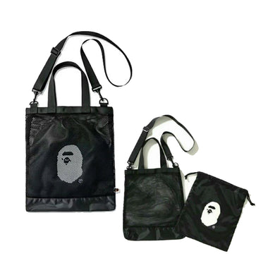 Bape Tote Bag -Black, Accessories- dollarflexclub