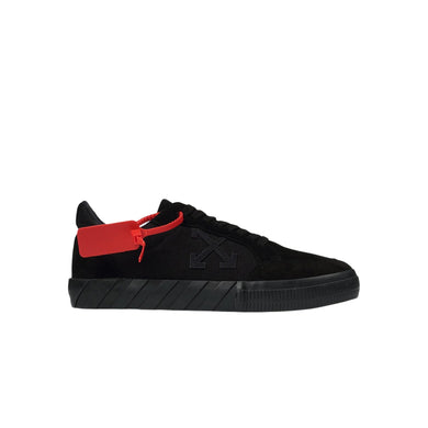 Off-White Low Vulcanized Sneakers -Black, Shoe- dollarflexclub