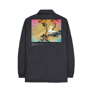 Kid See Ghost Coach Jacket, Clothing- dollarflexclub