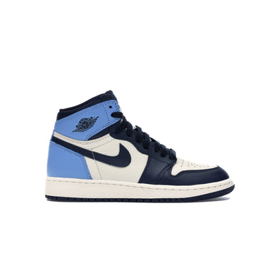 Jordan 1 Retro High Obsidian UNC (GS), Shoe- dollarflexclub