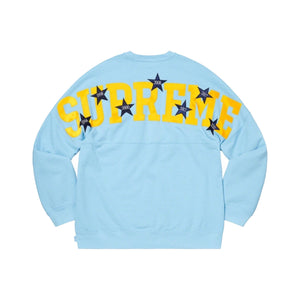 Supreme Stars Crewneck Light Blue