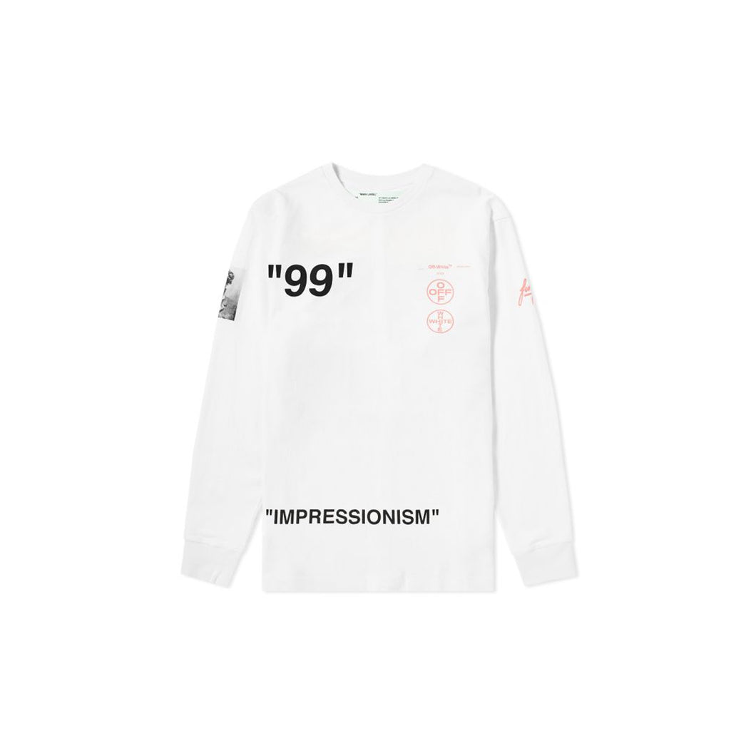 Off-White Impression Tee, Clothing- dollarflexclub