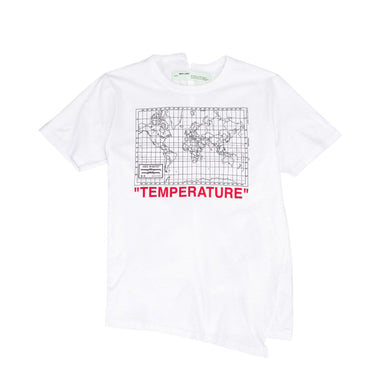 Off-White World Map Tee -White, Clothing- dollarflexclub