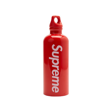 Supreme SIGG Traveller 0.6L Water Bottle Red, Collectibles- dollarflexclub