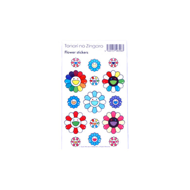 Murakami Puffy Flower Stickers, Sticker- dollarflexclub