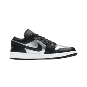 Jordan 1 Low SE Black Metallic Silver (W)