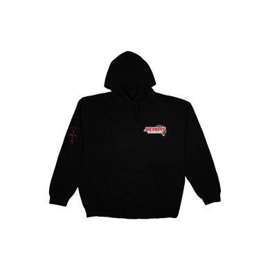 Travis Scott JACKBOYS Repo Hoodie Black, Clothing- dollarflexclub