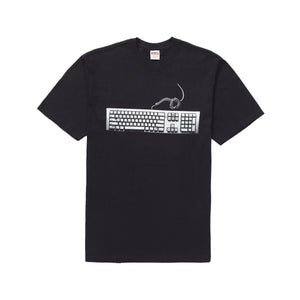 Supreme Keyboard Tee - Black, Clothing- dollarflexclub