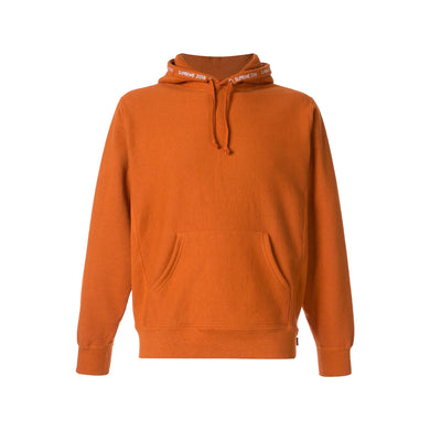 Supreme Channel Hoodie -Copper  (Used), Clothing- dollarflexclub