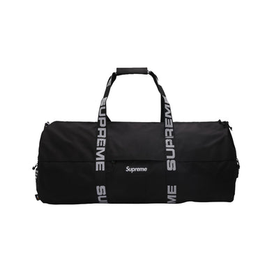 Supreme Large Duffle Bag Black, Accessories- dollarflexclub