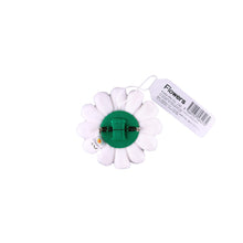 Load image into Gallery viewer, Takashi Murakami Flower Plush Pin White